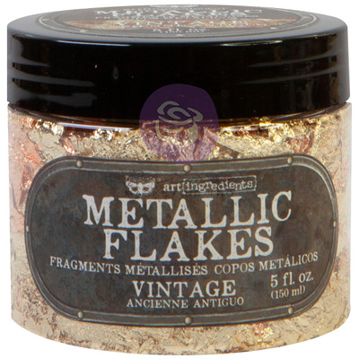 Art Ingredients Metallic Flakes, Vintage