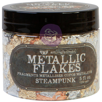 Art Ingredients Metallic Flakes, Steampunk