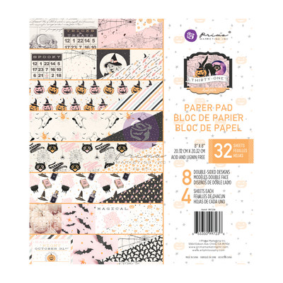 8X8 Paper Pad, Thirty-One