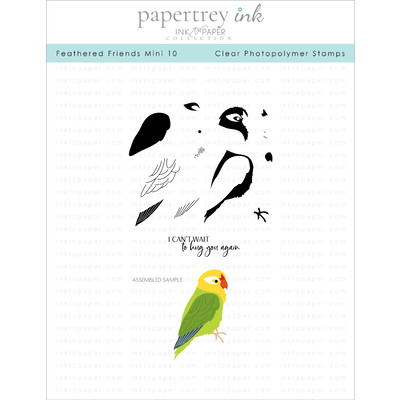 Clear Stamp, Feathered Friends Mini 10