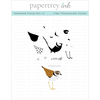 Clear Stamp, Feathered Friends Mini 12