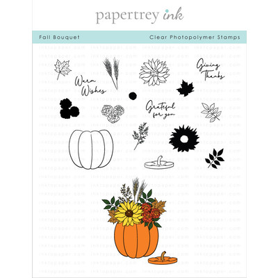 Clear Stamp, Fall Bouquet