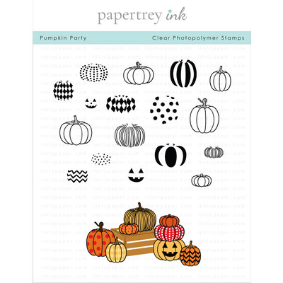 Clear Stamp, Pumpkin Party