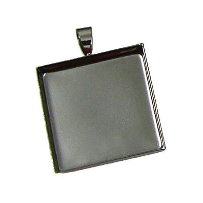 Jewelry Pendant, Square