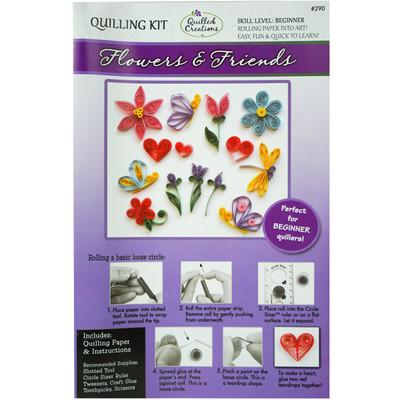 Quilling Kit, Flowers & Friends