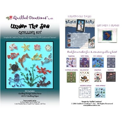 Quilling Kit, Under The Sea