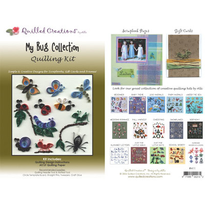 Quilling Kit, My Bug Collection