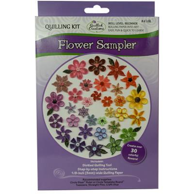Quilling Kit, Flowers Sampler
