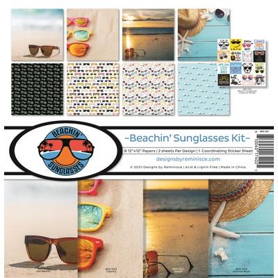 12X12 Collection Kit, Beachin' Sunglasses