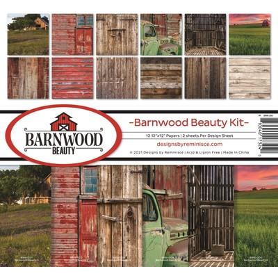 12X12 Collection Kit, Barnwood Beauty