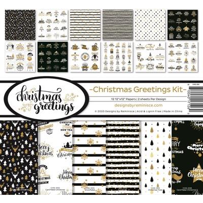 12X12 Collection Kit, Christmas Greetings