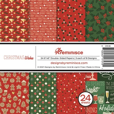 6X6 Paper Pad, Christmas Wishes