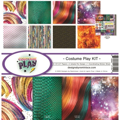 12X12 Collection Kit, Costume Play