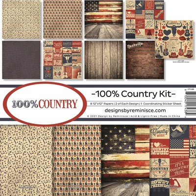 12X12 Collection Kit, 100% Country