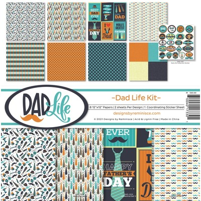 12X12 Collection Kit, Dad's Life