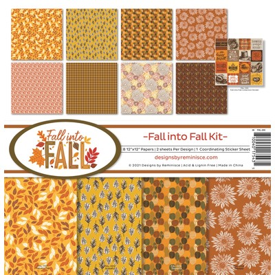 12X12 Collection Kit, Fall into Fall