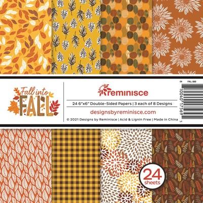 6X6 Paper Pad, Fall into Fall