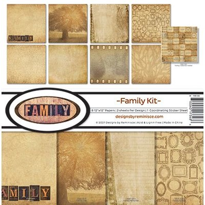 12X12 Collection Kit, Family