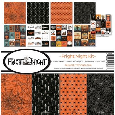 12X12 Collection Kit, Fright Night