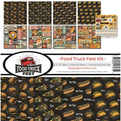 12X12 Collection Kit, Food Truck Fest