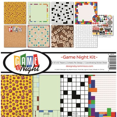 12X12 Collection Kit, Game Night