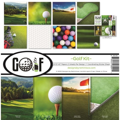 12X12 Collection Kit, Golf