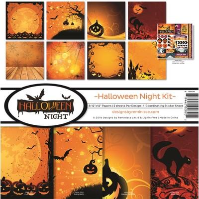 12X12 Collection Kit, Halloween Night