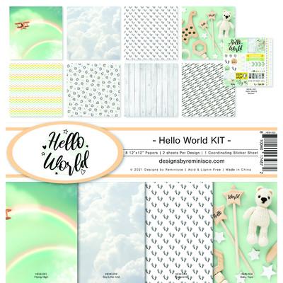 12X12 Collection Kit, Hello World