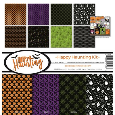 12X12 Collection Kit, Happy Haunting