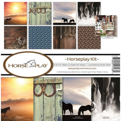 12X12 Collection Kit, Horseplay