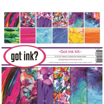 12X12 Collection Kit, Got Ink?