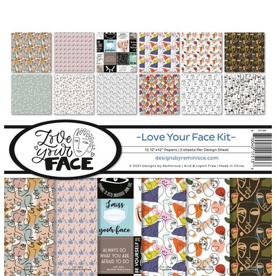 12X12 Collection Kit, Love Your Face
