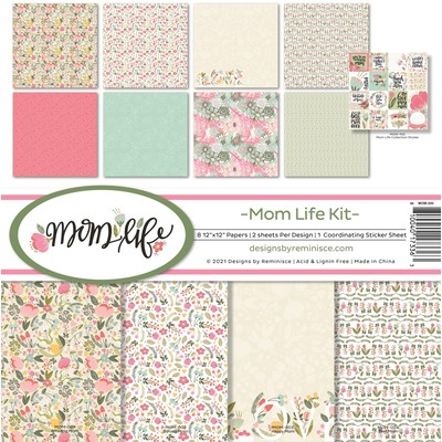 12X12 Collection Kit, Mom Life