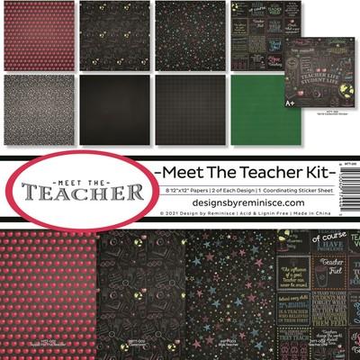 12X12 Collection Kit, Meet the Teacher