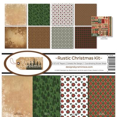 12X12 Collection Kit, Rustic Christmas