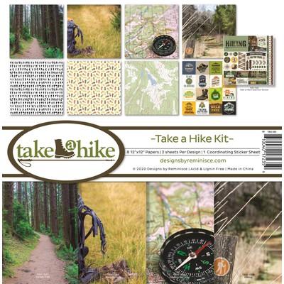 12X12 Collection Kit, Take a Hike