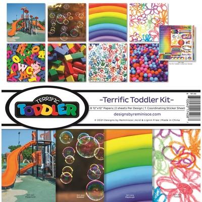 12X12 Collection Kit, Terrific Toddler