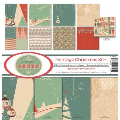 12X12 Collection Kit, Vintage Christmas