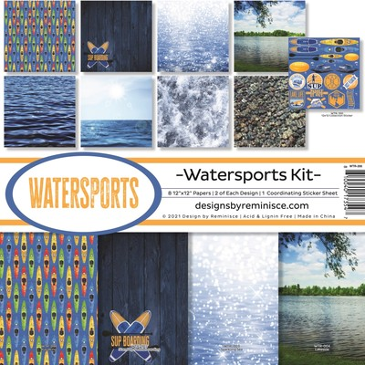 12X12 Collection Kit, Watersports