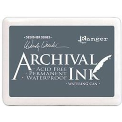 Archival Ink Pad, Jumbo - Watering Can