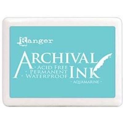 Archival Ink Pad, Jumbo - Aquamarine