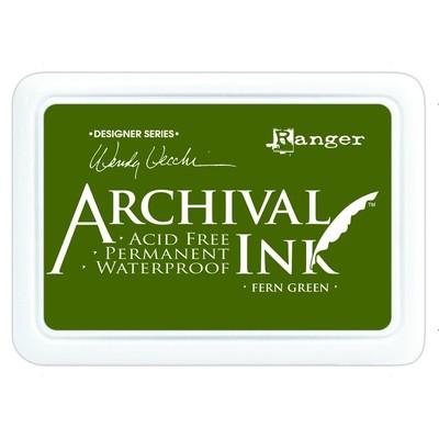 Archival Ink Pad, Fern Green