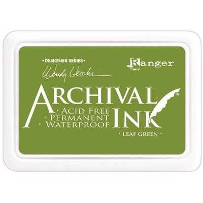 Archival Ink Pad, Leaf Green