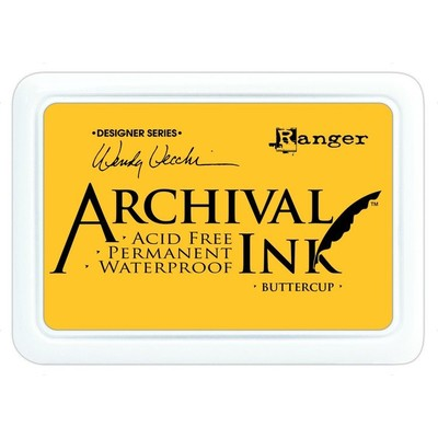 Archival Ink Pad, Buttercup