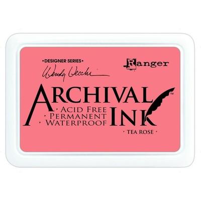 Archival Ink Pad, Tea Rose