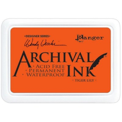 Archival Ink Pad, Tiger Lily