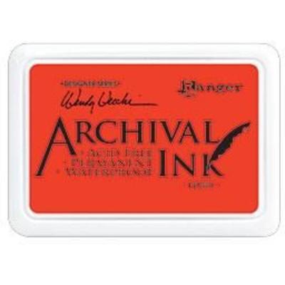 Archival Ink Pad, Poppy