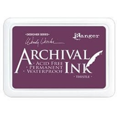 Archival Ink Pad, Thistle