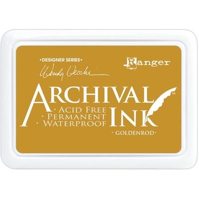 Make Art Archival Ink Pad, Goldenrod