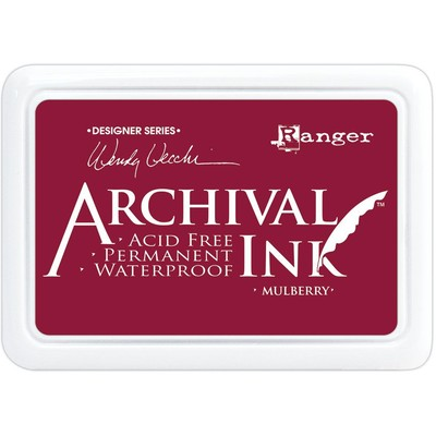 Archival Ink Pad, Mulberry